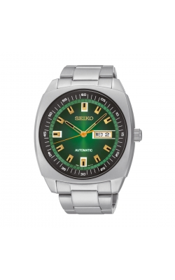 Seiko Recraft Men's Green Dial Automatic Watch - SNKM97 product image
