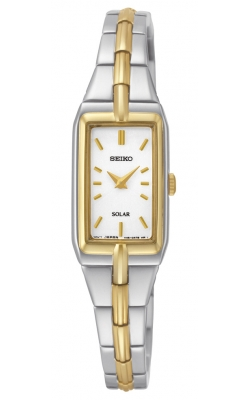 Seiko Women's Solar Two-Tone Watch - SUP272 product image