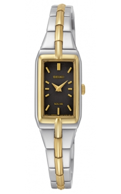 Seiko Women's Solar Two-Tone Watch - SUP274 product image
