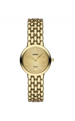 Seiko Women's Solar Gold-Tone Watch - SUP352 product image