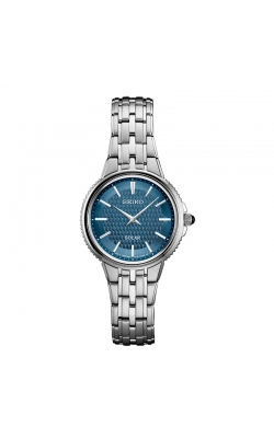 Seiko Women's Blue Dial Solar Watch - SUP393 product image